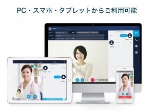 マルチデバイス対応のオンライン診療プラットフォーム